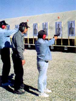 Handgun Shooting Range