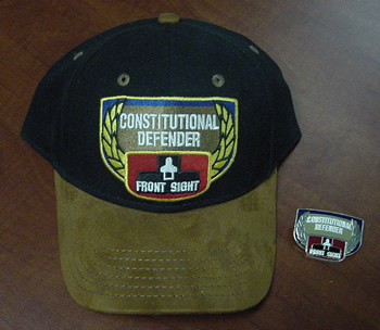 Consitutional Defender Hat and Pin