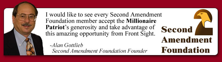 Second Amendment Foundation endorses Front Sight
