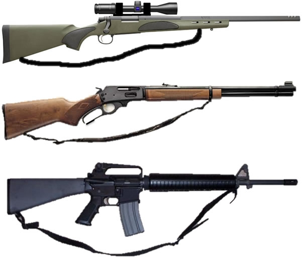 recommended rifle types